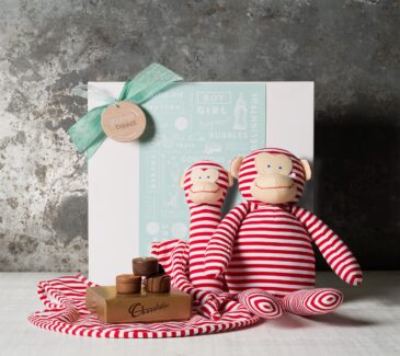 Cheeky Monkey - Red Gift Basket Hamper