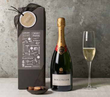 Bollinger Champagne. Send a celebration gift from Gourmet Basket
