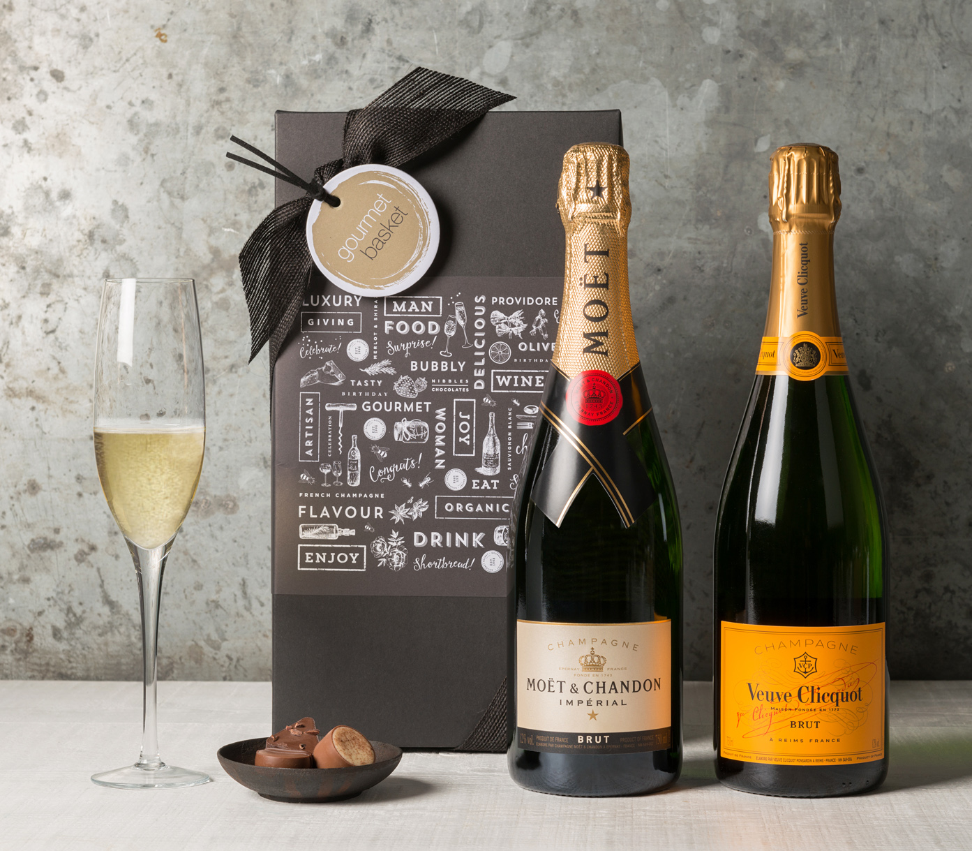 Champagne gift basket | Wine & Champagne Gift Hampers | Gourmet Basket
