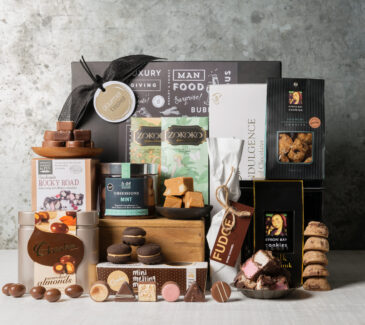 Gift for chocolate lover | Cookies and Chocolate galore from Gourmet Basket