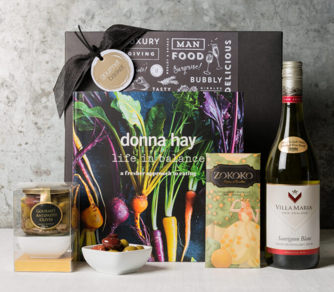 Donna Hay gift basket from Gourmet Basket