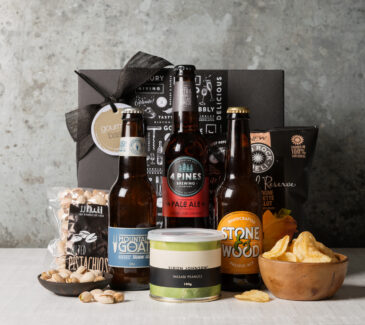 Beer hamper for men, gift hampers from Gourmet Basket