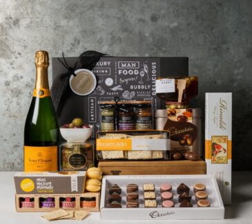 Veuve and Gourmet Delights Hamper