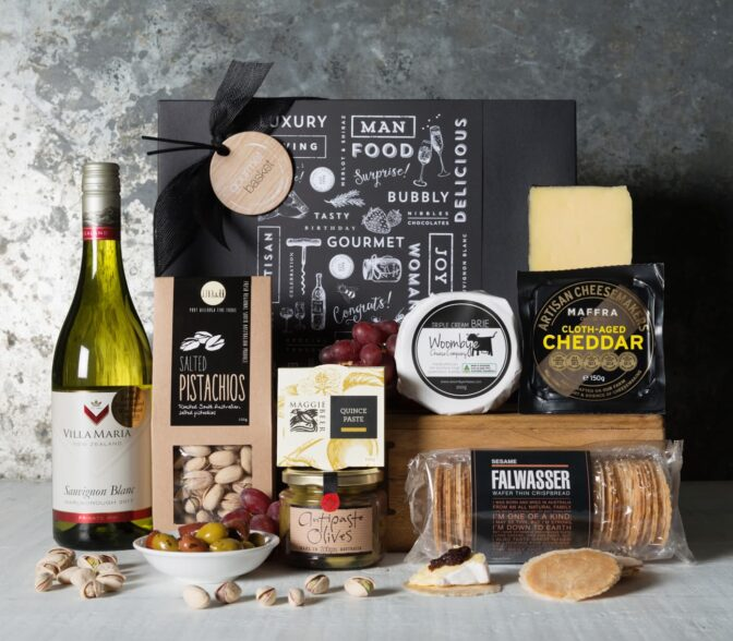 Sauvignon Blanc Cheese Hamper
